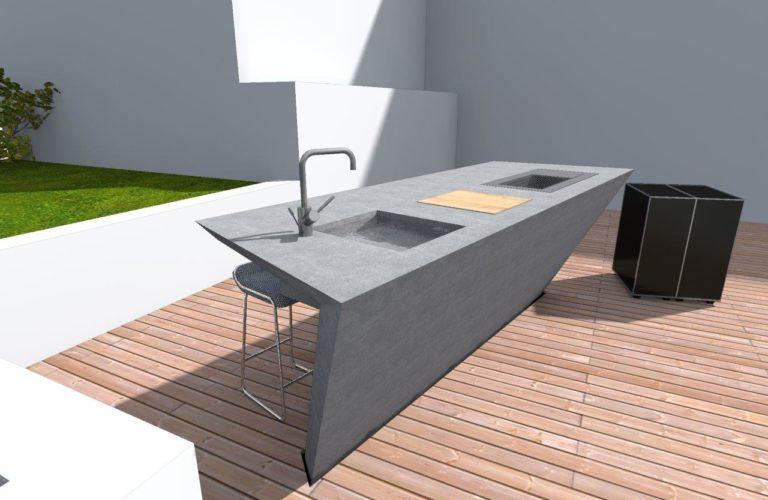 Betonküche | Küche aus Beton von stayconcrete