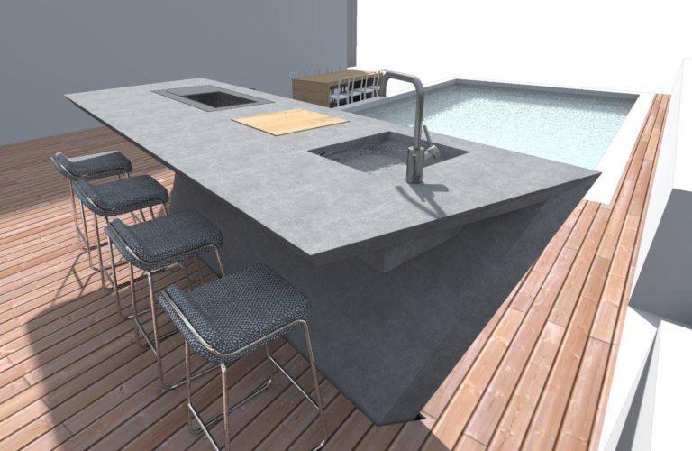 Outdoorküche Möbel Jobs : Outdoor möbel beton gartenmöbel von stayconcrete