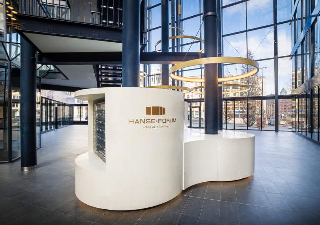 Hanseforum Hamburg Interior 4