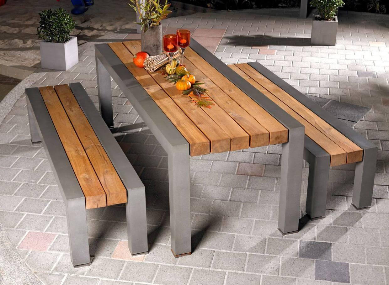 Mobilier de jardin en béton - stayconcrete