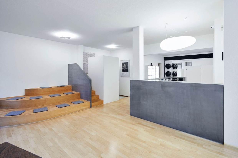 Ladentheke aus Beton